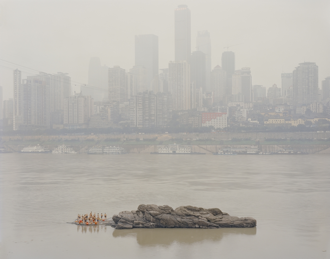 Stone in the middle of the river, 2013 © Zhang Kechun