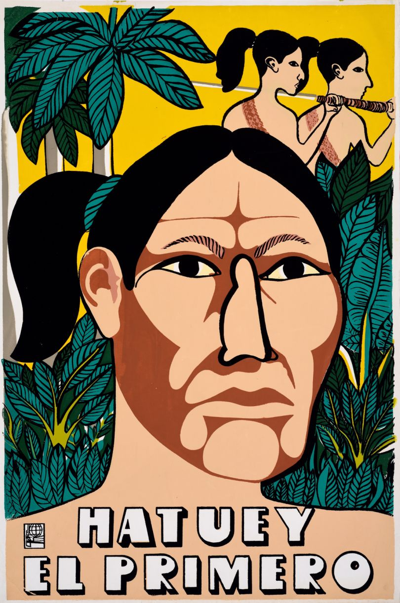 Gladys Acosta Ávila, 1992, Screenprint, OSPAAAL, The Mike Stanfield Collection