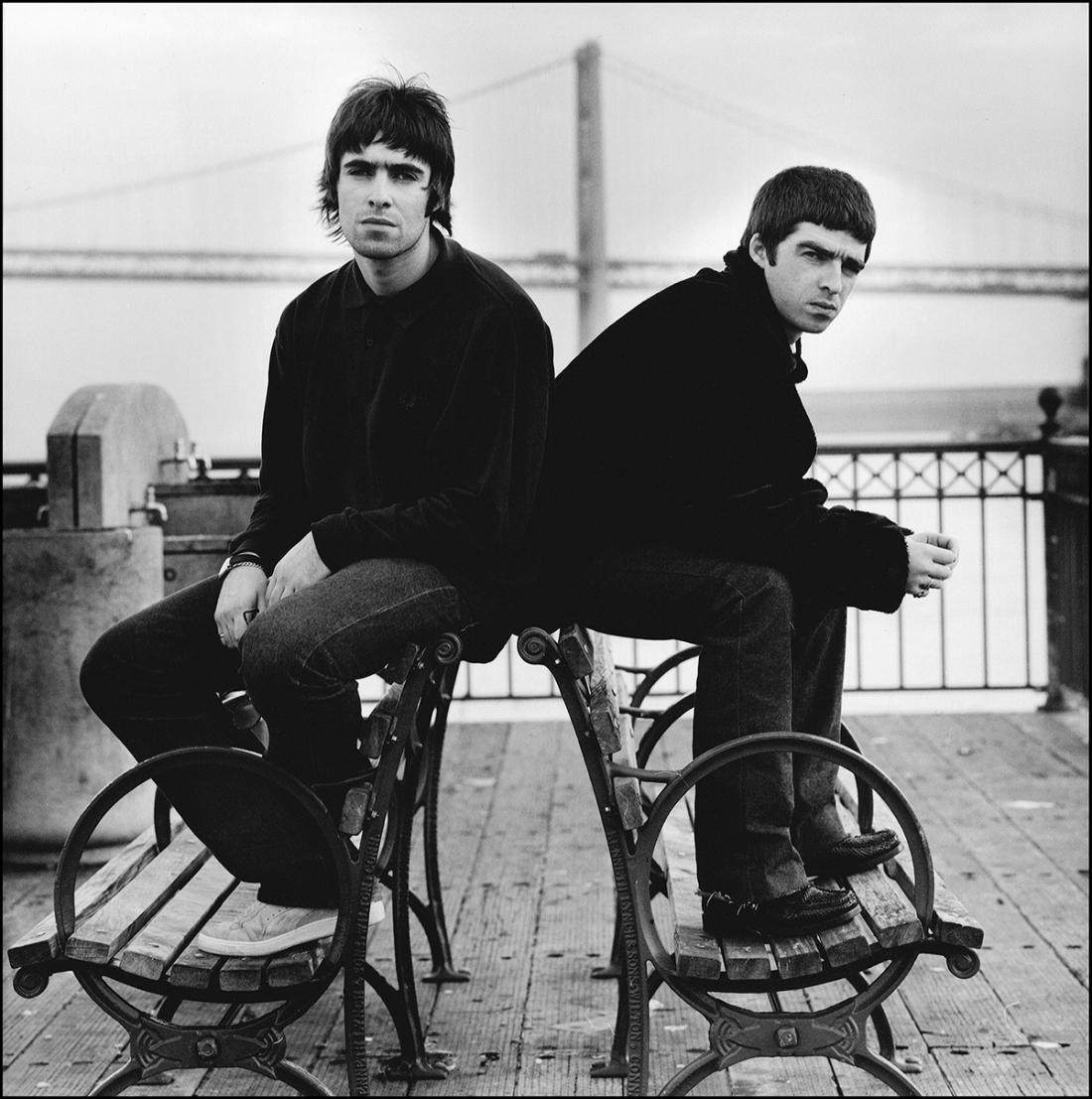 Liam & Noel, Oasis – © Jill Furmanovsky