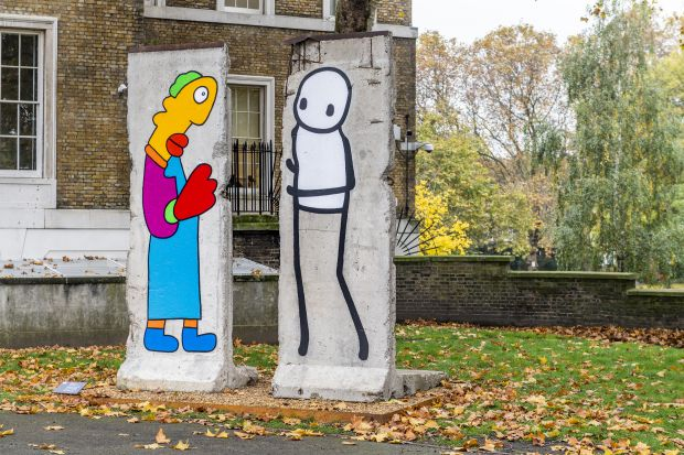 All images courtesy of Thierry Noir and STIK, and the Imperial War Museum. Via CB submission