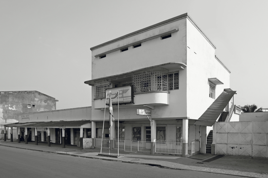 Office Building Air Burundi, Bujumura Burundi, around 1940 © Photo: Jean Molitor
