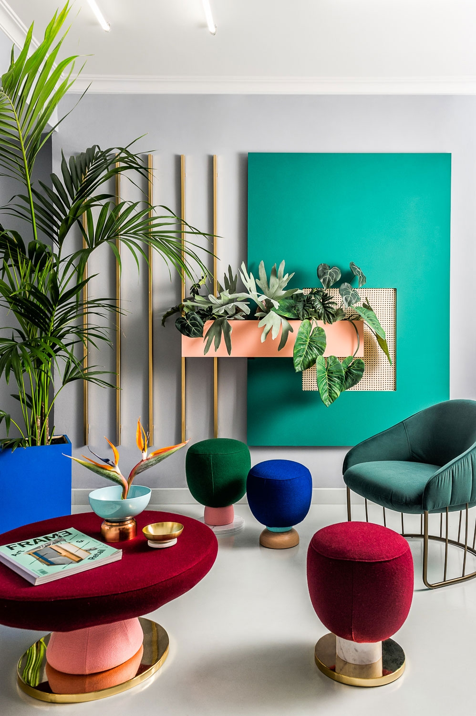 Masquespacio design firm reveals its new brand identity and colourful studio