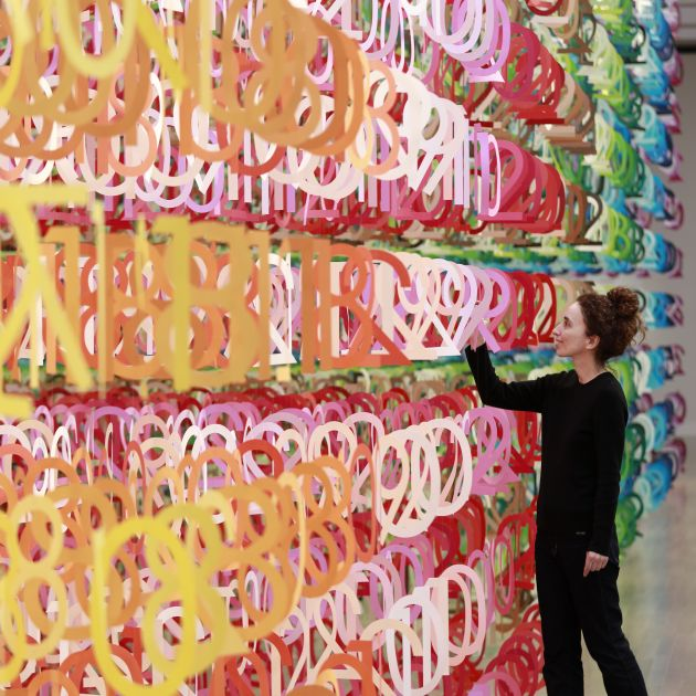 Emmanuelle Moureaux. All images courtesy of the artist and NOW Gallery