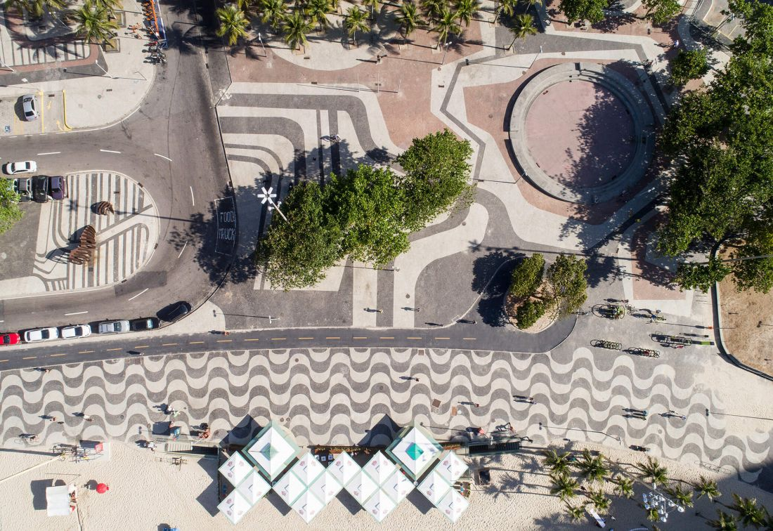 The Modernist Parks And Pavements Of Copacabana Designed