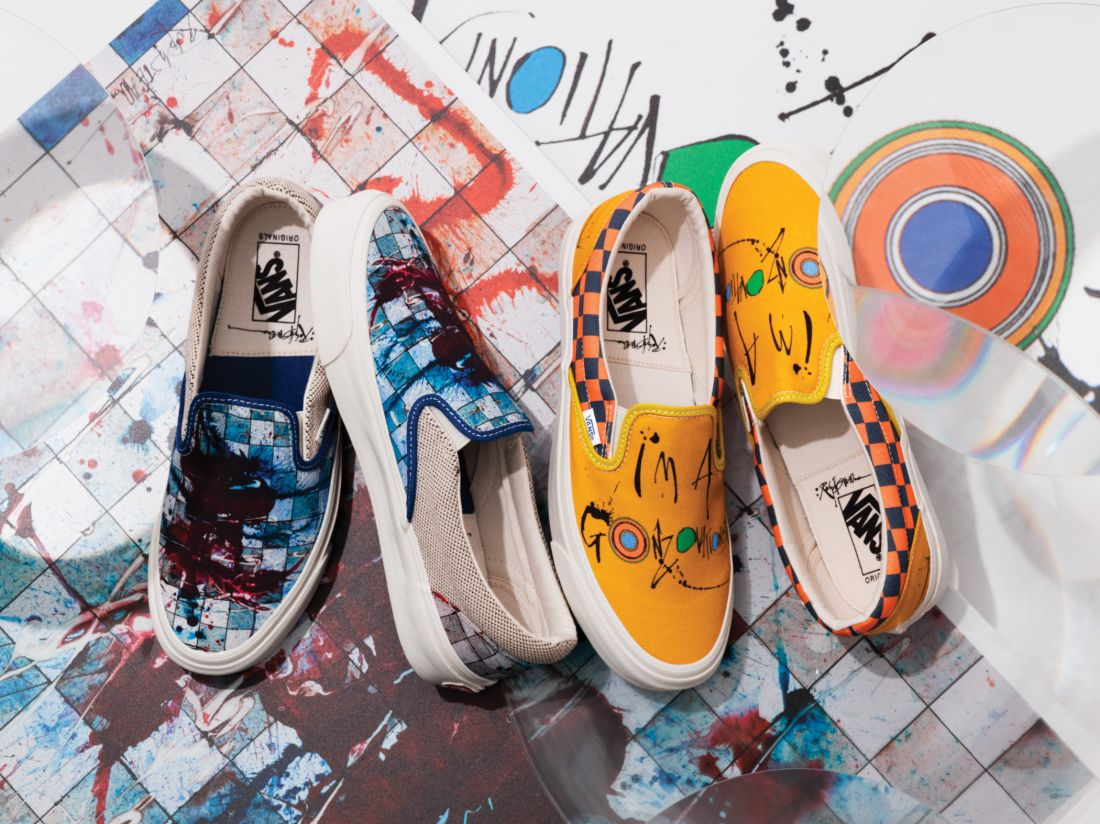 Gonzo icon Ralph Steadman creates designs for Vans that aim