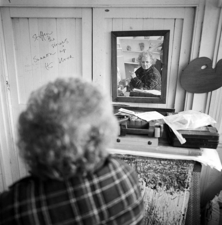 Anne Purkiss Maggi Hambling, 2014. © Anne Purkiss