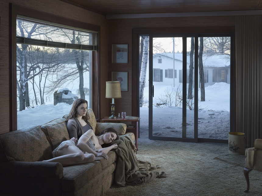 Gregory Crewdson Mother and Daughter, 2014 © Gregory Crewdson Courtesy Gagosian Gallery