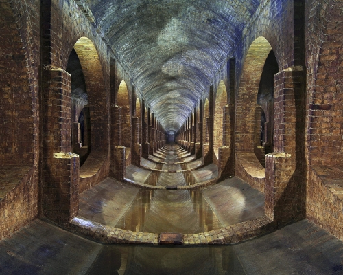 Photographer: Matt Emmett Covered Reservoir, Finsbury Park, London, United Kingdom  Architect: East London Water Works Company 1868