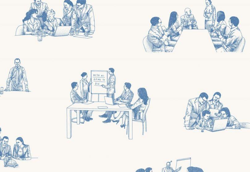 Meeting Room Wallpaper