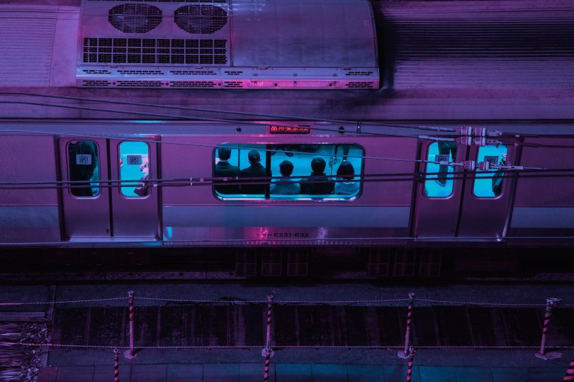 'TO:KY:OO Night Train' 00:00:00 © Liam Wong