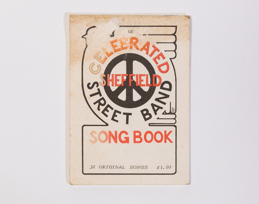 Sheffield Streetband Songbook  © Museums Sheffield
