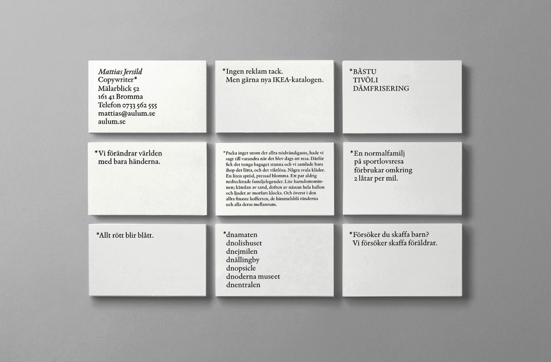 16 of the sweetest business card designs from some of the worlds