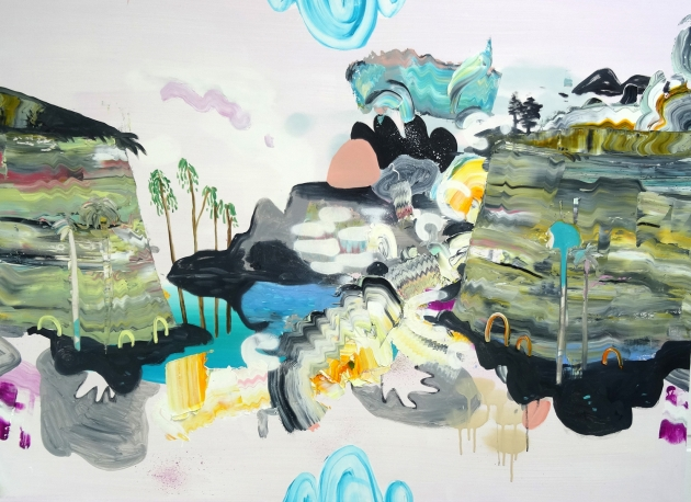 Lost Beneath the Pastel Sky – Oil on Canvas, 2016 – Jane Rainey