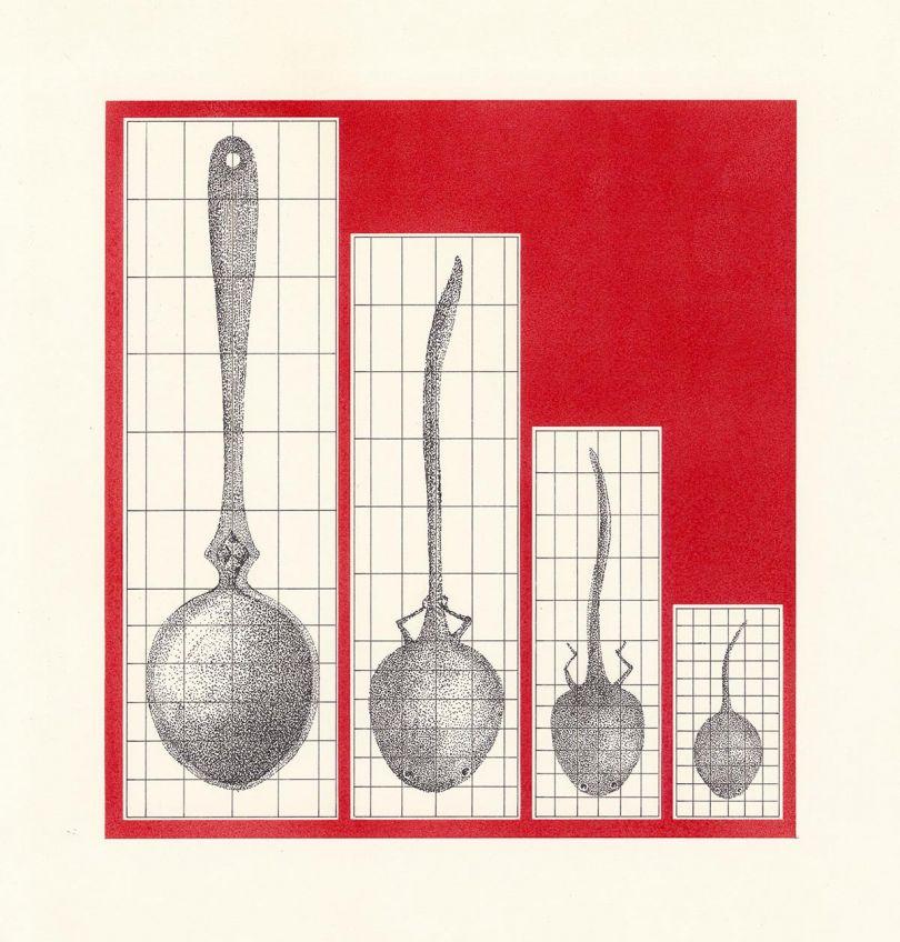 Ladle Tadpole (Otama) from 'Fantasy Workshop Picture Book' (Courtesy of Anno Art Museum, Tsuwano)
