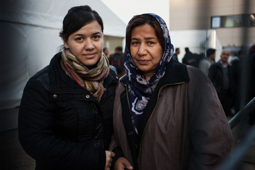 Naheed and her mother