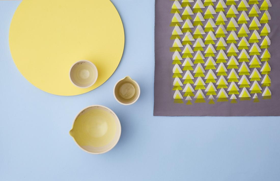 Betty's Bakeware by Alice Funge, Koyto Yellow by Lorna Doyle. Photography by Yeshen Venema