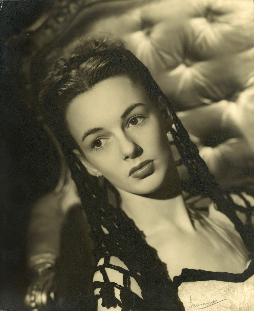 June, aged 26, 1950. Credit: Photograph by Bassano, 38 Dover Street, London