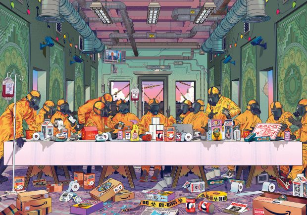The Last Supper by Musketon