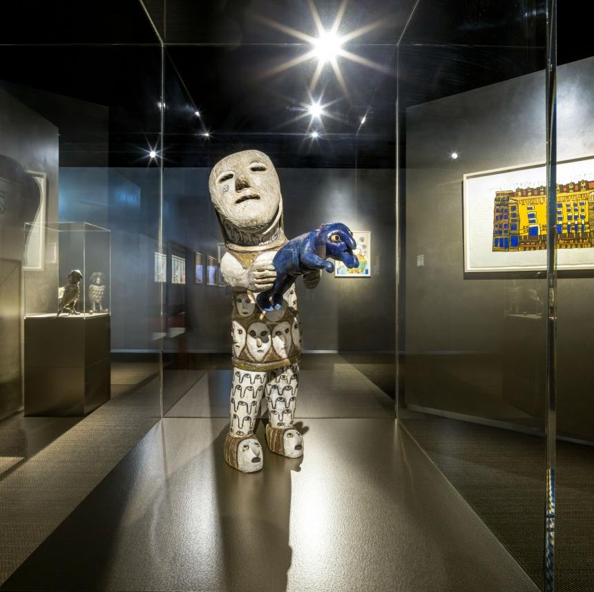 China exhibition at the Outsider Art Museum, Amsterdam. Photo: Thijs Wolzak