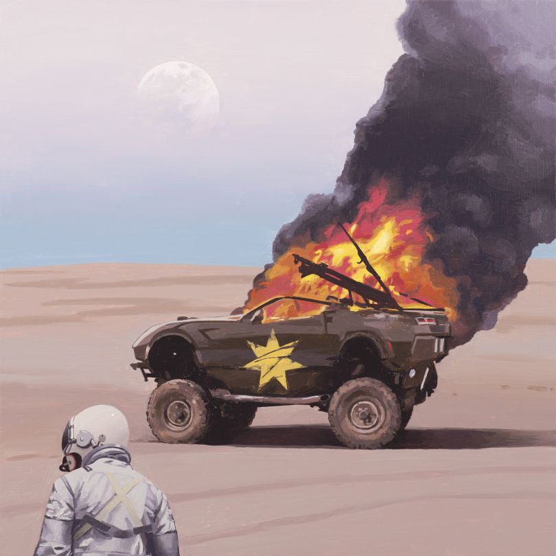 Burning, 2019 © Scott Listfield