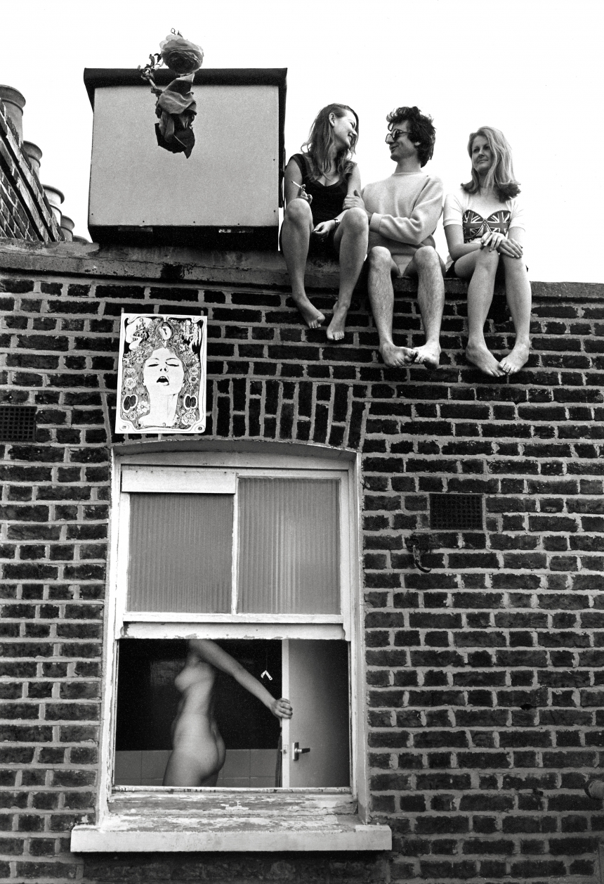 No loss of face, Earl's Court, c 1960 © Frank Habricht