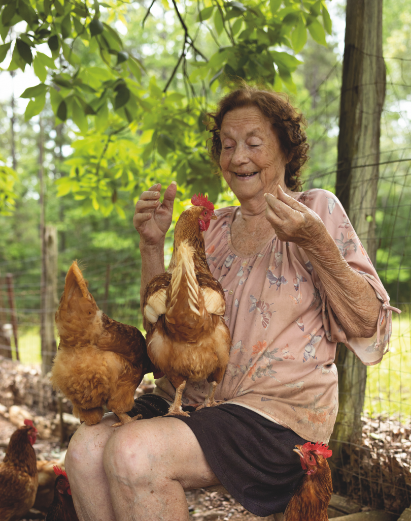 Pearlie and Her Pets, Wilcox County © Andrew Moore, from Blue Alabama