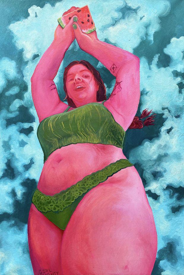 Watermelon Sugar Thighs, 2020 © Elena Redmond