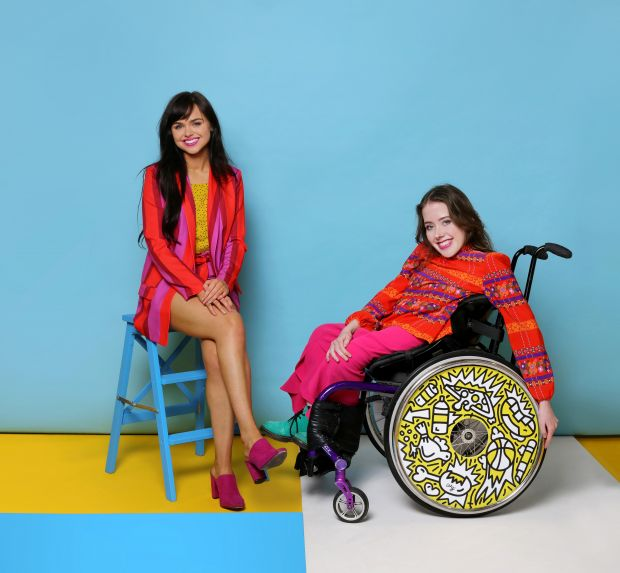 Ailbhe and Izzy, founders of Izzy Wheels, photo by Sarah Doyle, wheels by Timothy Goodman