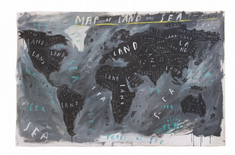 Map of Land and Sea, 2018, Oliver Jeffers