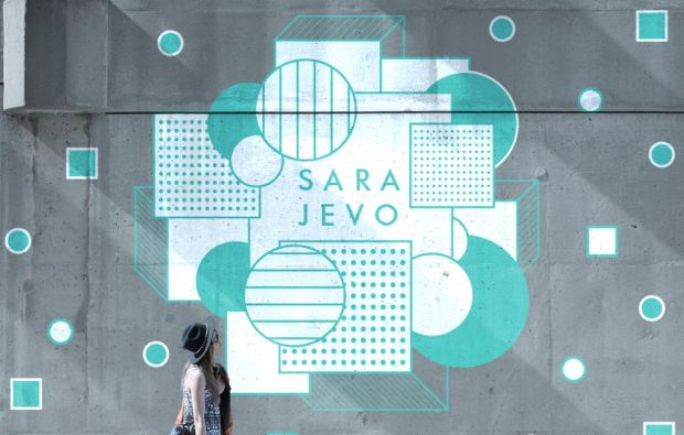 Sarajevo by Julia Chesbrough. All images courtesy of Shillington and designers involved.