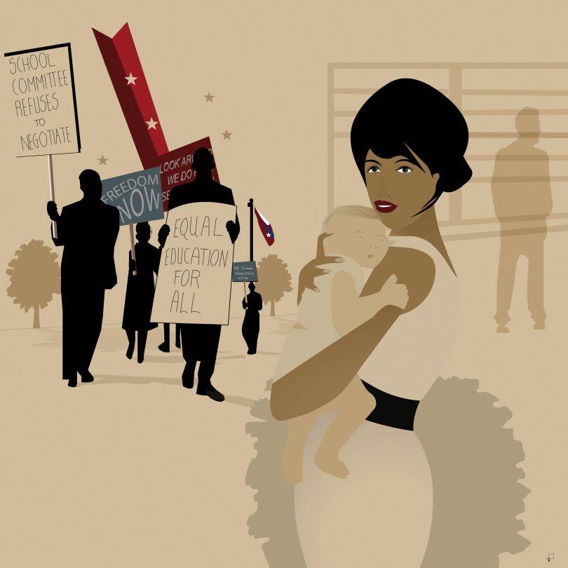 Illustration by Judith Rudd