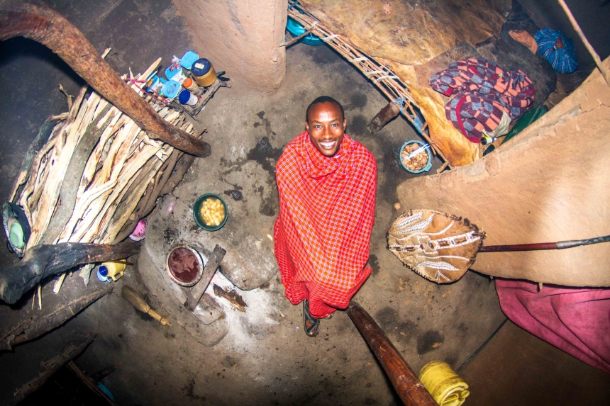 Ezekiel, warrior in Echo Manyata, Kenya - room #867