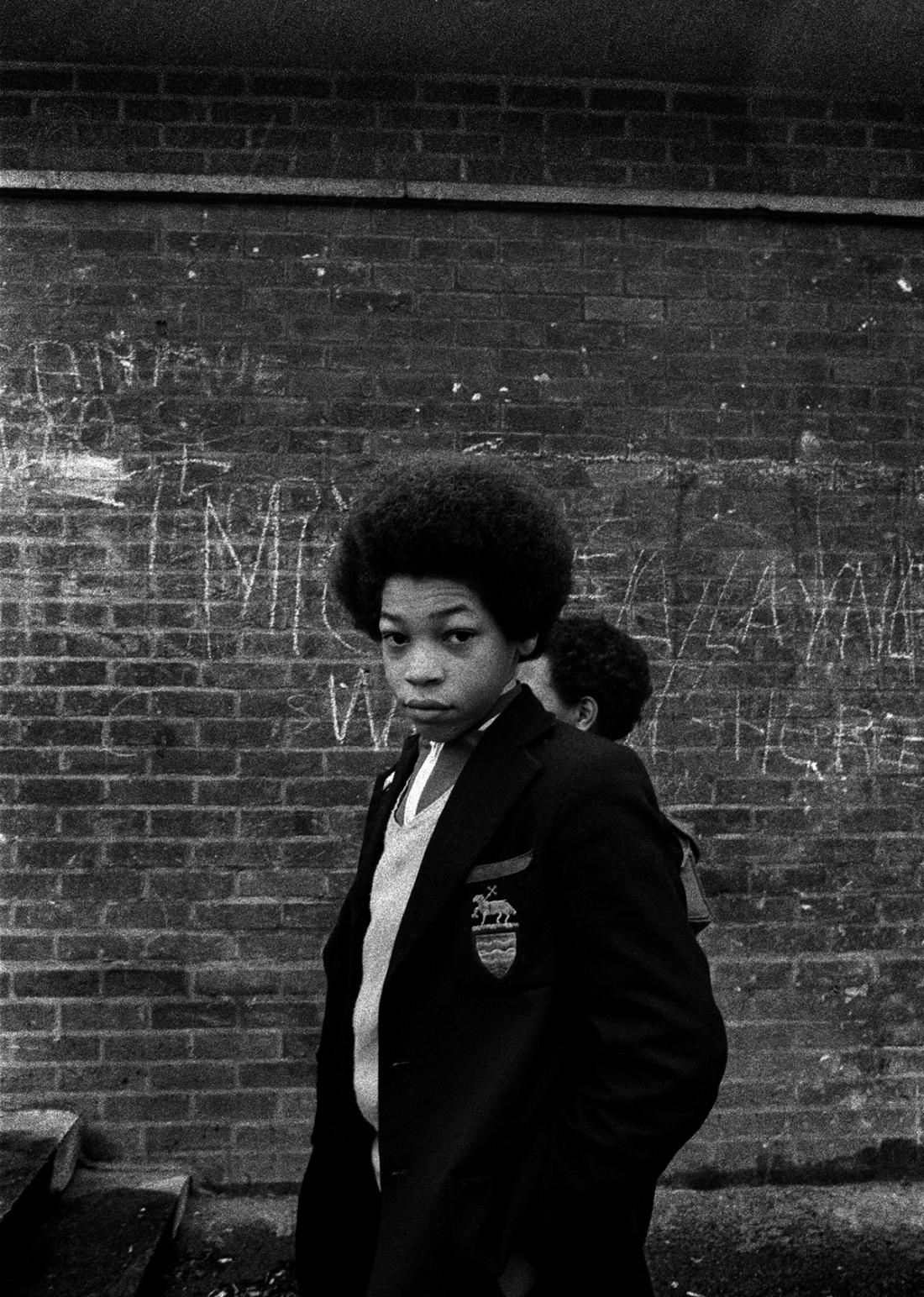 Tulse Hill School Brixton, London 1977