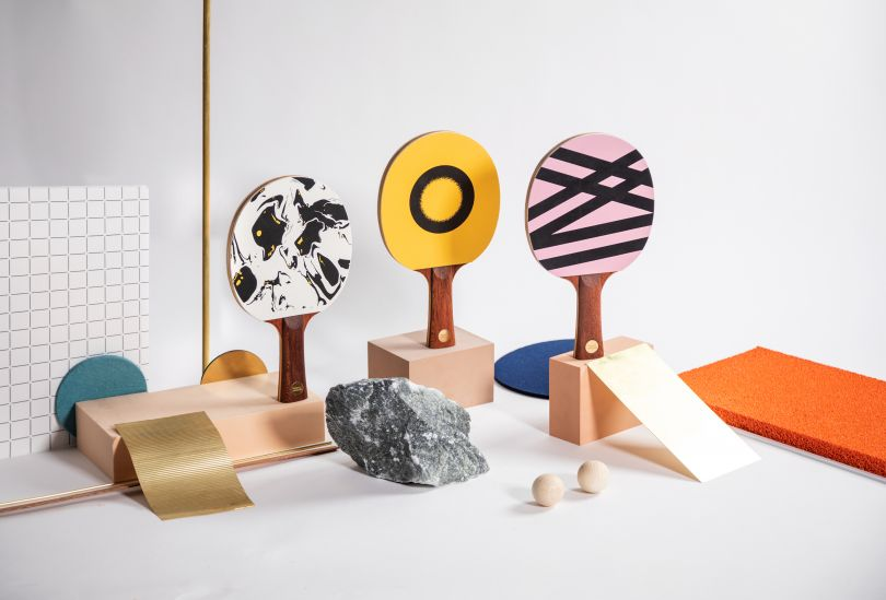 Ping pong paddles for design snobs by Supersmash