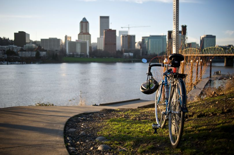 Willamette River, Portland. Image courtesy of Travel Portland