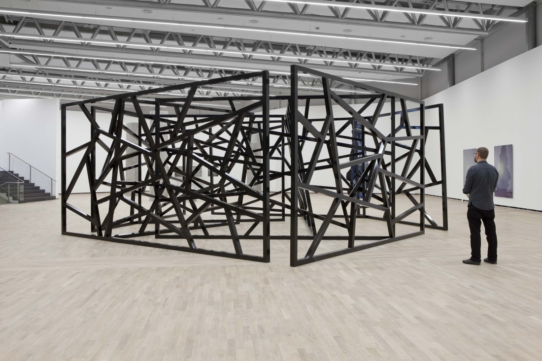 Eva Rothschild Nature and Culture, installation view, 2014, Henie Onstad Kunstsenter, Oslo, Norway, Copyright the artist, courtesy Henie Onstad Kunstsenter, Oslo, Norway & Stuart Shave/Modern Art, London