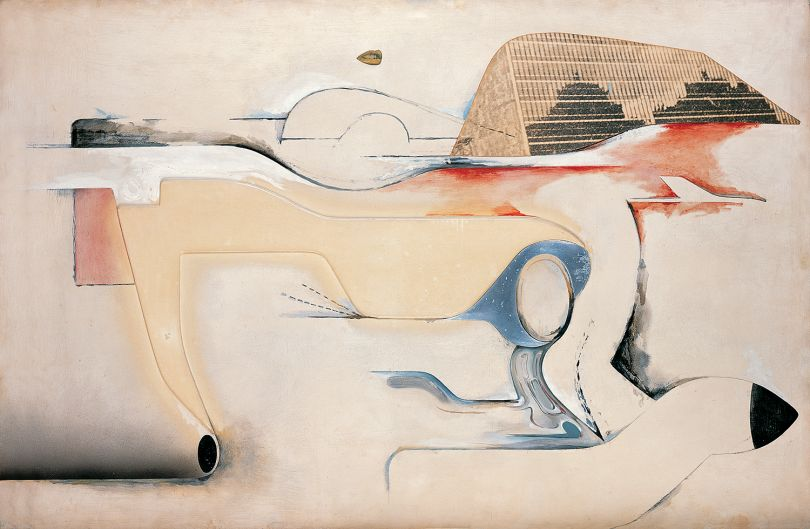 Richard Hamilton, Hers is a Lush Situation, 1958, Pallant House Gallery (Wilson Gift through The Art Fund, 2006) © The Estate of the Artist. All rights reserved, DACS 2018