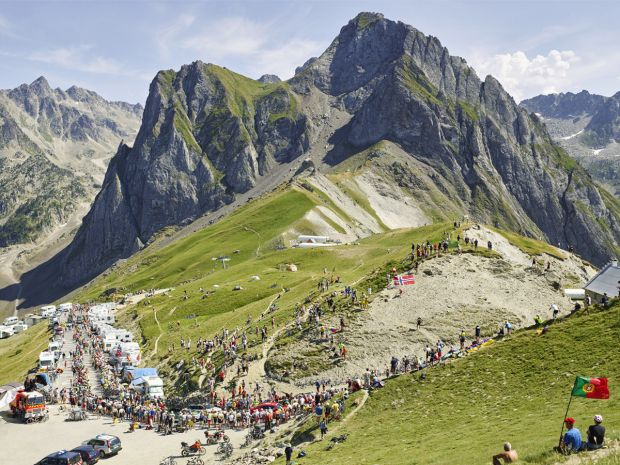 Col du Tourmalet. All images courtesy of the artist. Via Creative Boom submission.