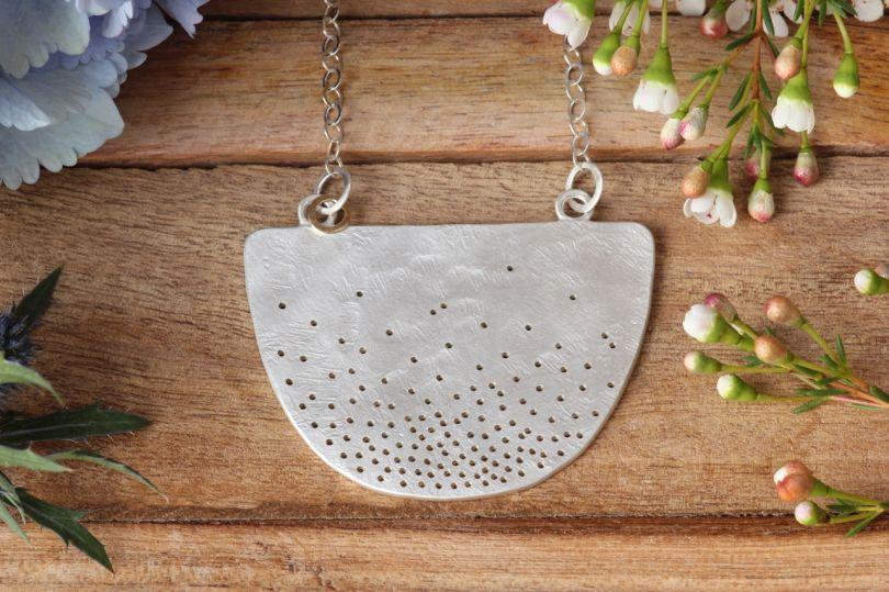 Bib necklace by [Jane Kenney](http://www.janekenney.co.uk/shop/bib-necklace). Priced at £315