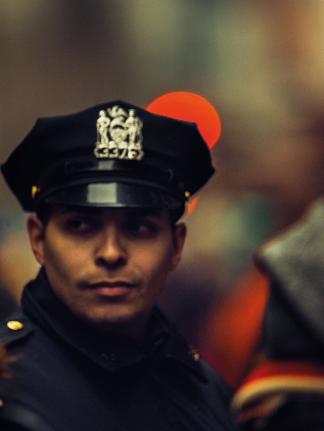 Christopher Anderson's poignant photographs of New York City cops