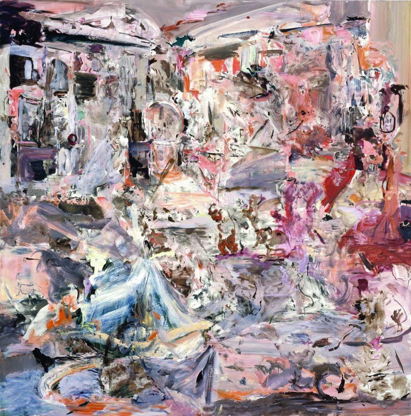 Cecily Brown Maid's Day Off 2005 Oil on linen 200.7 x 198.1 cm Courtesy of the Hiscox Collection © Cecily Brown. Courtesy the artist, Thomas Dane Gallery and Paula Cooper Gallery, New York
