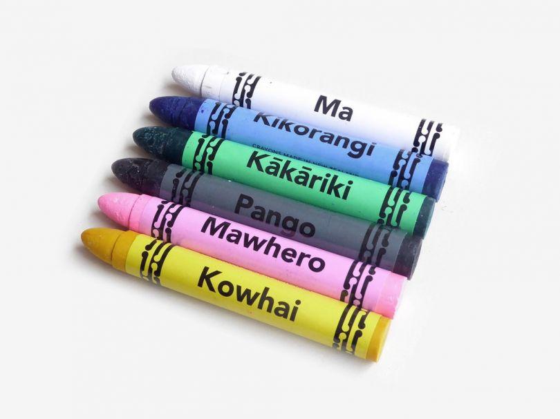Maori Crayon Set via Present & Correct