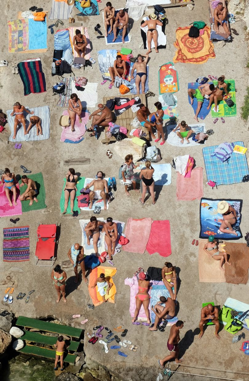 The human comedy. People relaxing at the beach. Everyone tells us a story | © Vito Leone, Italy, Shortlist, Open, Culture, 2017 Sony World Photography Awards
