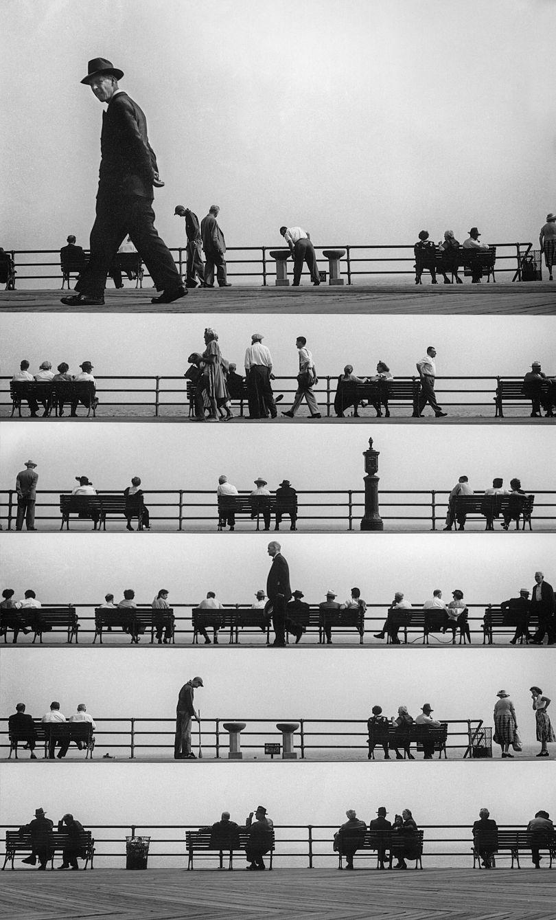 Boardwalk Sheet Music Montage, 1952 © Estate of Harold Feinstein All rights reserved