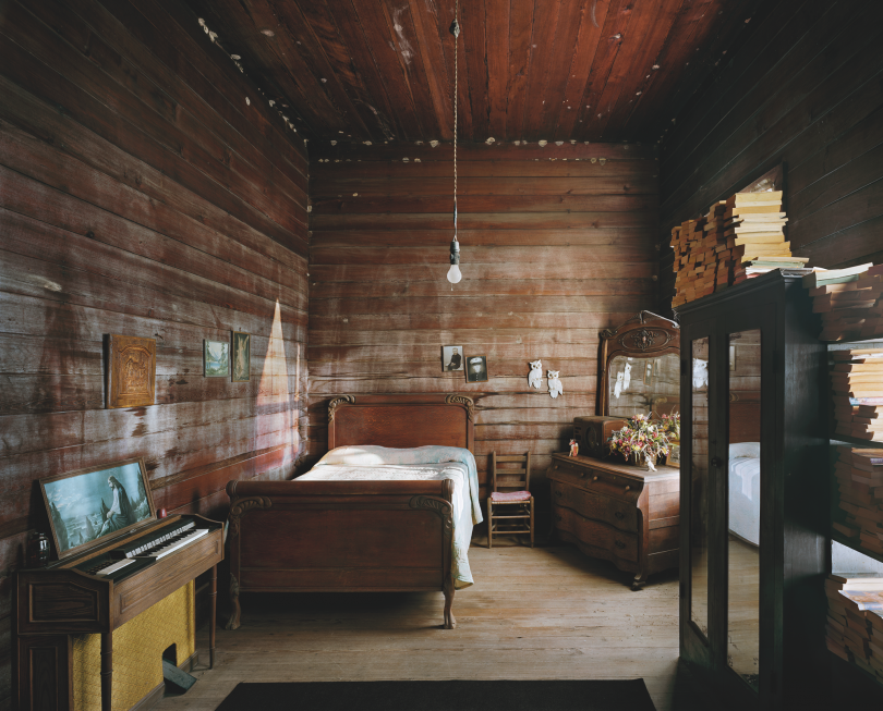 Entry Hall at Broken Arrow, Wilcox County © Andrew Moore, from Blue Alabama