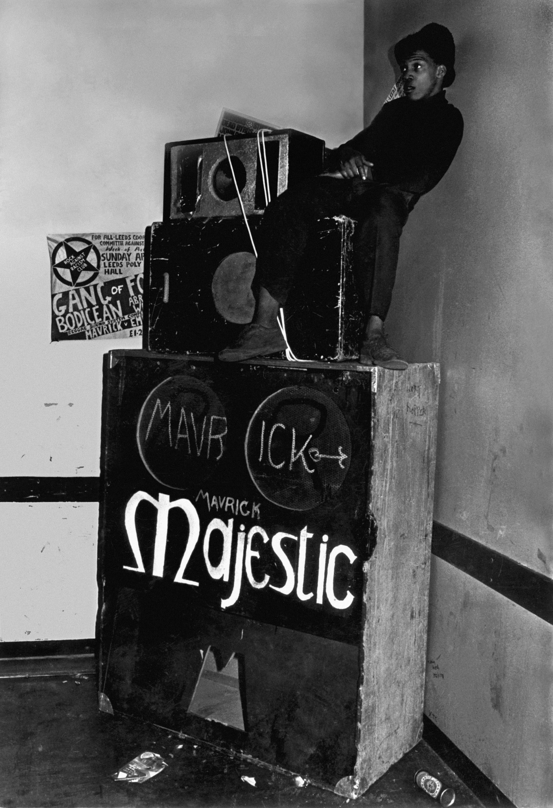 Skully Roots (Jeff Walwyn), Majestic Sounds, Militant Entertainment Tour, Leeds 1979