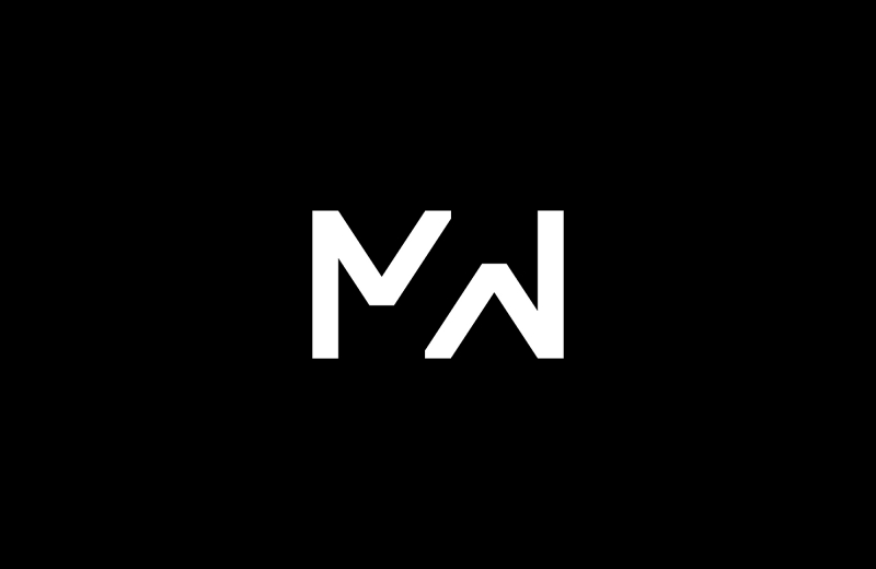 m power  logo and branding for filmmaker martin webb by