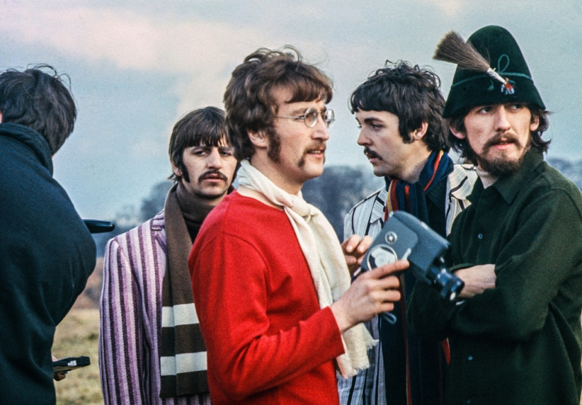 The Beatles, 1967 © Jane Bown Estate. This previously unseen photograph of The Beatles in Knole Park, Sevenoaks was taken during the filming of a promo for Penny Lane. Jane came across the band in the park by chance as she walked her dog. She returned to the house to get a camera but only had colour cibachrome film. Although these photographs were never officially published by The Observer colour magazine, they were kept on file in case they were ever required.