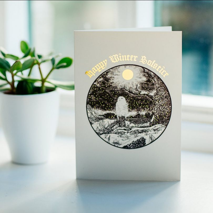 Happy Winter Solstice by Lee Lund