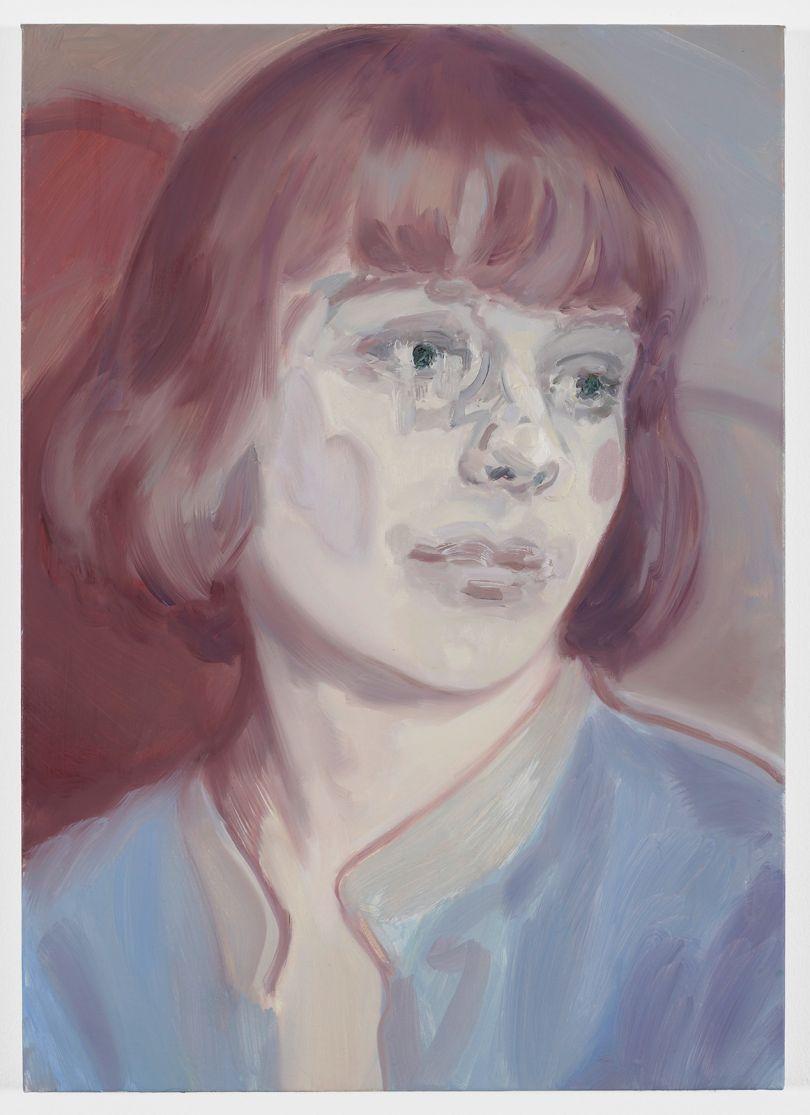 Kaye Donachie Sighs of Amber , 2018 oil on linen 72 x 50 cm © Kaye Donachie, courtesy Maureen Paley, London